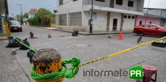 Bloquean la avenida Independencia ante la indiferencia de autoridades por la falta de energía eléctrica (Foto: Jorge Huerta E.)