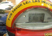 En 2008 se anunció la instalación de parquímetros en el centro de Poza Rica (Foto: Jorge Huerta E.)
