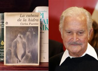 Carlos Fuentes y la Cabeza de Hidra