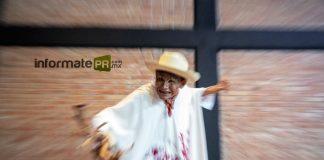 Aníbal Hoyos García presentó Historias de Kiwík en el museo Teodoro CAno con el programa Raíz México (Foto: Jorge Huerta E.)
