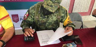 Canje de armas 2021 en Poza Rica (Foto: SSP)