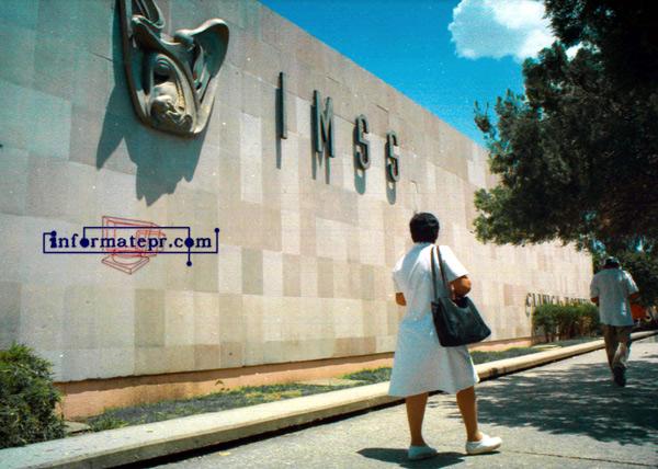 Otra más del IMSS (Foto: Jorge Huerta E.