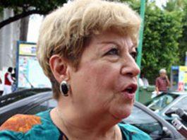 Irma Arronte de Ledesma, esposa del ex presidente MAximinio Ledesma Muñoz, primer alcalde no priísta de la ciudad de Poza Rica (Foto: Jorge Huerta E.)