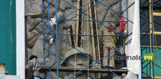 Mural Petrolero de Teodoro Cano (Foto: Jorge Huerta E.)