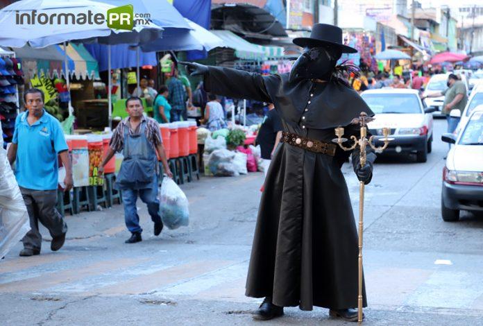 El Sr. de la peste (Foto: Jorge Huerta E)