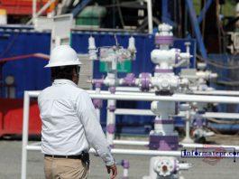 Trabajadores petroleros (Foto: Jorge Huerta E.)