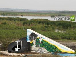 "Pozo petrolero ""La pez 1"", primer pozo comercial de México (Foto: Jorge Huerta E.)"