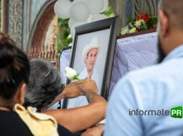 Último adiós a Nicanor Martínez Olguín (Foto: Jorge Huerta E.)