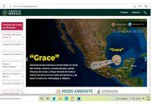 Grace se convierte en huaracán categoría 3 (imagen Conagua)