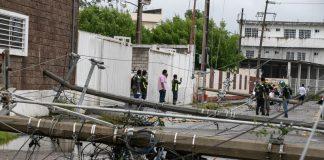 Incuantificables los daños que provocó el huracán Grace en la ciudad de Poza Rica (Foto: Jorge Huerta E.)