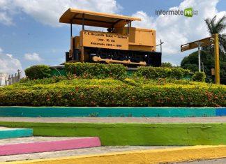 La maquinita o la burrita fue el primer transporte para llegar a lo que es hoy la ciudad de Poza Rica (Foto: Jorge Huerta E.)