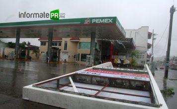 Huracán Dean, uno de los más devastadores en la ciudad de Poza Rica (Foto: Jorge Huerta E.)