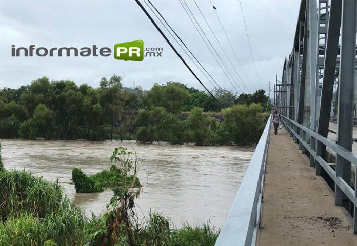 Por lluvias alertan por el posible aumento del río Caoznes (Foto: Jorge Huerta E.)